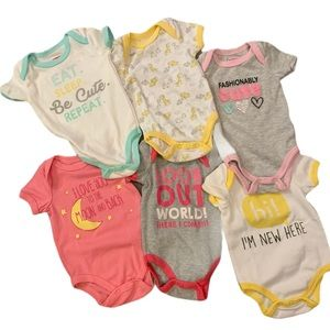 BUNDLE OF 6 ✨ Swiggles onesies